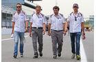 Giedo van der Garde & Adrian Sutil - Sauber - Formel 1 - GP Italien - 4. September 2014