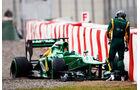 Giedo van der Garde - Barcelona F1 Test 2013