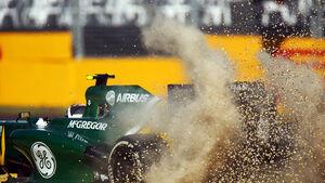 Giedo van der Garde - Caterham - Formel 1 - GP Australien - 15. März 2013