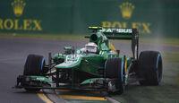 Giedo van der Garde - Caterham - Formel 1 - GP Australien - 16. März 2013