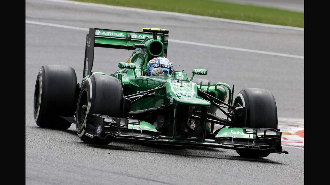 Giedo van der Garde - Caterham - Formel 1 - GP Belgien - Spa-Francorchamps - 24. August