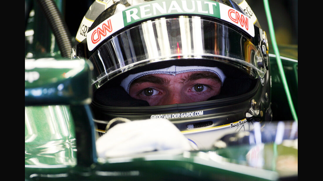 Giedo van der Garde - Caterham - Formel 1 - GP Japan - Suzuka - 5. Oktober 2012
