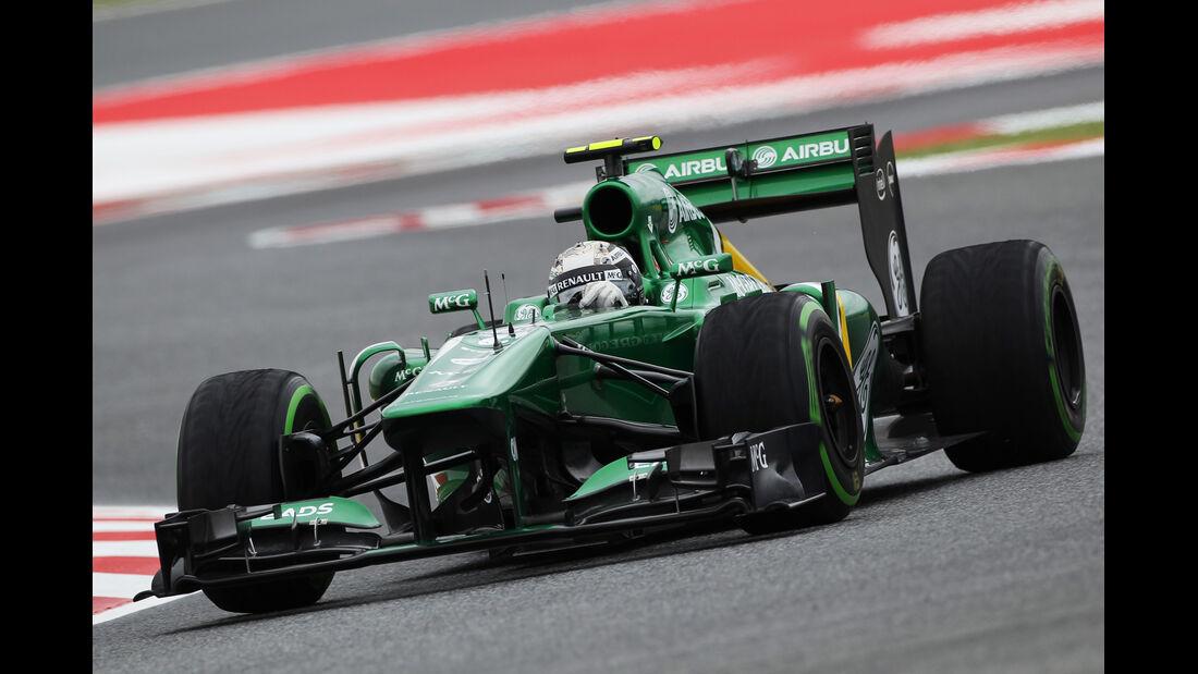 Giedo van der Garde - Caterham - Formel 1 - GP Spanien - 10. Mai 2013