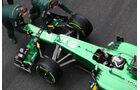 Giedo van der Garde, Caterham, Formel 1-Test, Barcelona, 01. März 2013