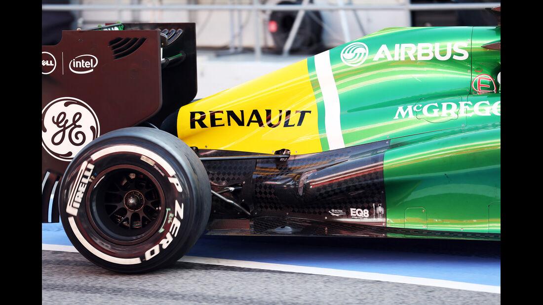 Giedo van der Garde - Caterham - Formel 1 - Test - Barcelona - 2. März 2013