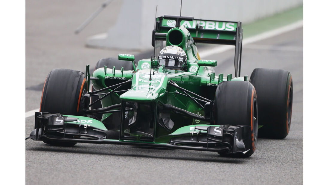 Giedo van der Garde, Caterham, Formel 1-Test, Barcelona, 21. Februar 2013