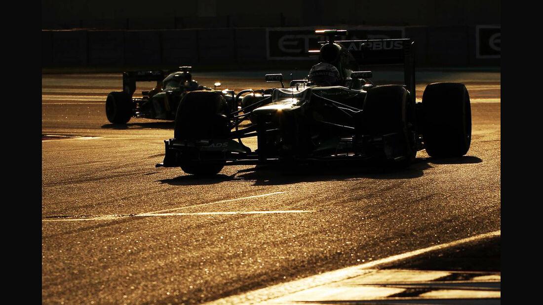 Giedo van der Garde - Formel 1 - GP Abu Dhabi - 03. November 2013