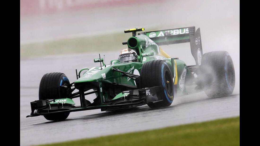Giedo van der Garde - Formel 1 - GP England - 28. Juni 2013