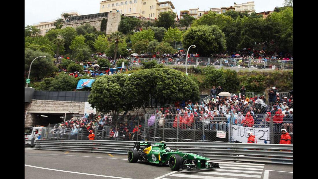 Giedo van der Garde - Formel 1 - GP Monaco - 25. Mai 2013