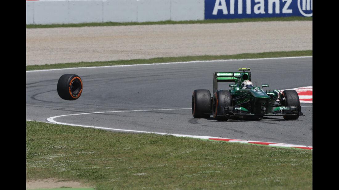Giedo van der Garde - Formel 1 - GP Spanien 2013