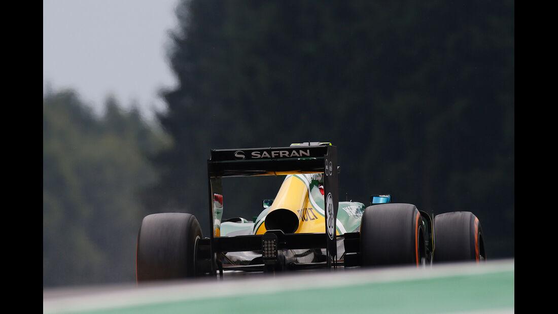 Giedo van der Garde - GP Belgien 2013