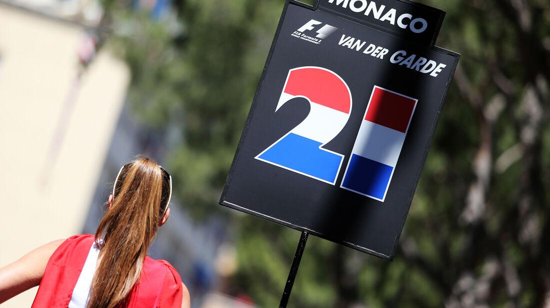 Giedo van der Garde - GP Monaco 2013