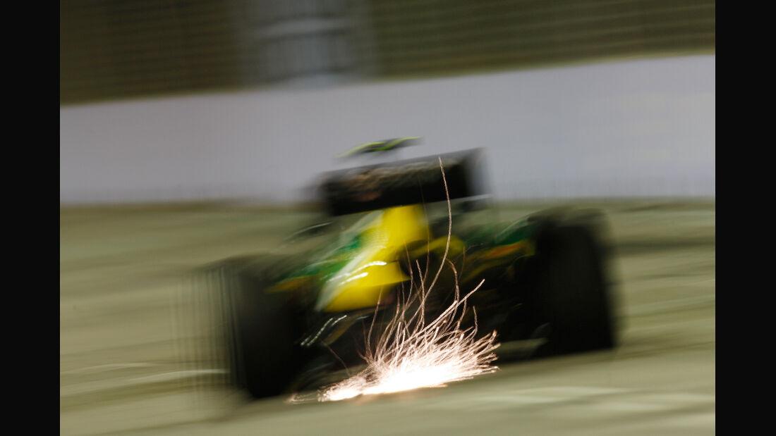Giedo van der Garde - GP Singapur 2013
