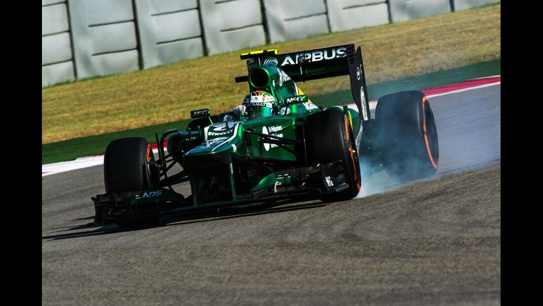 Giedo van der Garde - GP USA 2013