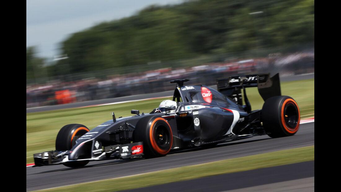 Giedo van der Garde - Sauber - Formel 1 - GP England  - Silverstone - 4. Juli 2014