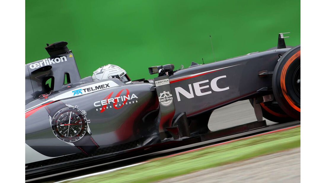 Giedo van der Garde - Sauber  - Formel 1 - GP Italien - 5. September 2014