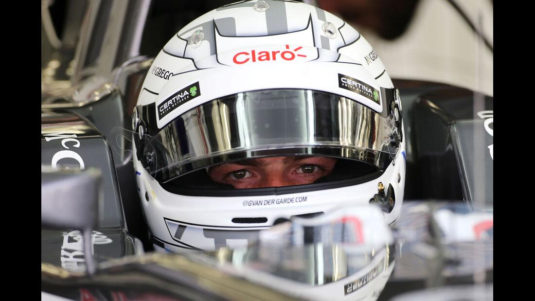 Giedo van der Garde - Sauber - GP Bahrain - Test 2 - 9. April 2014