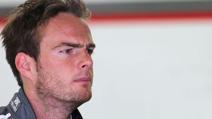 Giedo van der Garde - Sauber - GP Bahrain - Test 2 - 9. April 2014