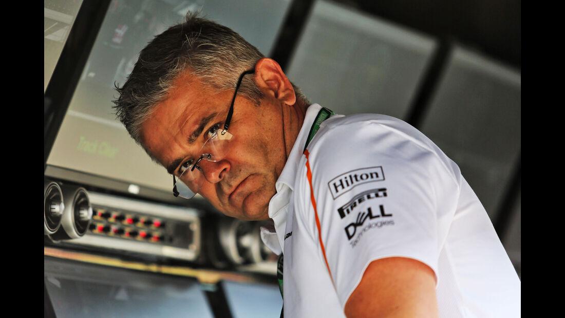 Gil de Ferran - McLaren - GP England - Silverstone - Formel 1 - Freitag - 6.7.2018