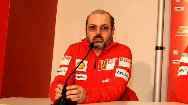 Gilles Simon - Ferrari