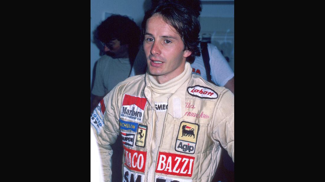Gilles Villeneuve 1980 Ferrari