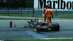 Gilles Villeneuve Crash 1982