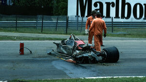 Gilles Villeneuve Crash 1982