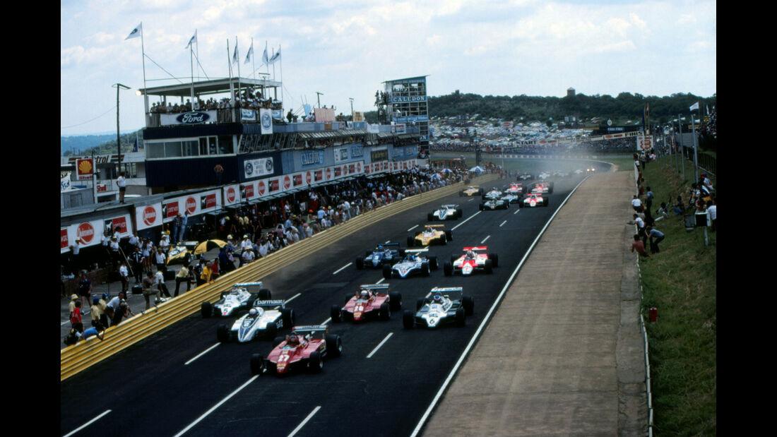 Gilles Villeneuve - Ferrari 126C2 - GP Südafrika 1982 - Kyalami