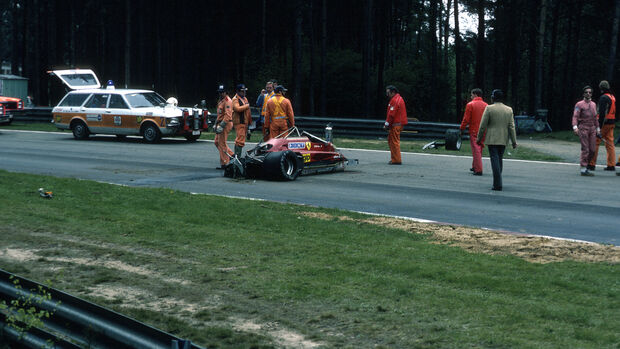 Gilles Villeneuve - Ferrari 162C - Zolder 1982