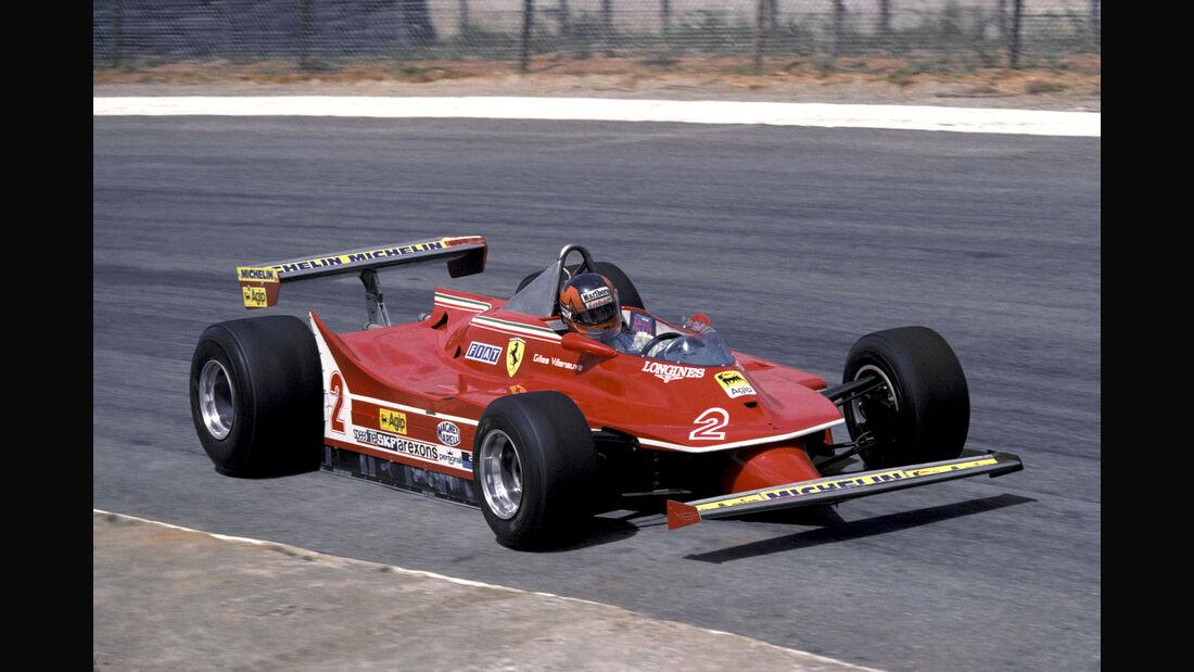 Gilles Villeneuve - Ferrari 312T-5 - GP Südafrika 1980 - Kyalami