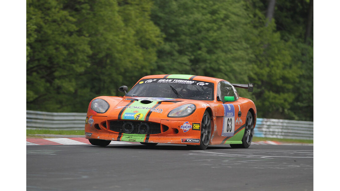 Ginetta GT4, 24h-Rennen Nürburgring 2012