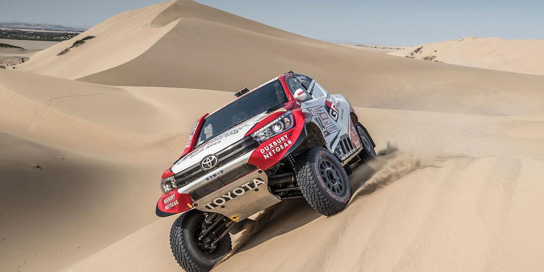 Giniel de Villiers - Toyota Hilux - Rallye Dakar 2018 - Motorsport