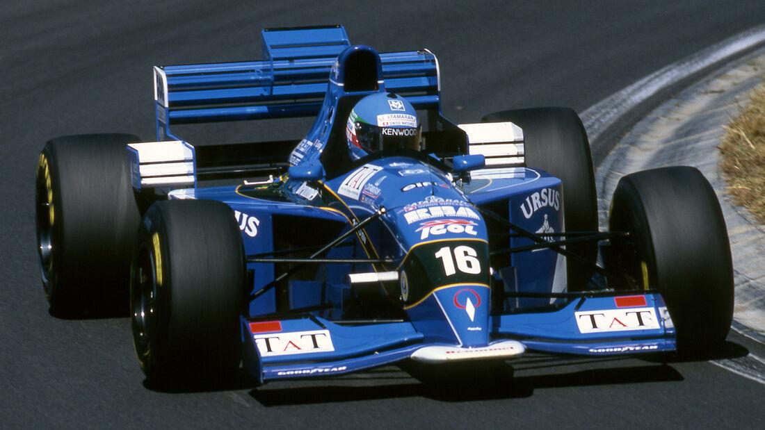 Giovanni Lavaggi - Pacific PR02 - GP Ungarn 1995