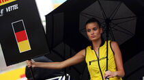 Gird Girl - Formel 1 - GP Ungarn - 27. Juli 2014