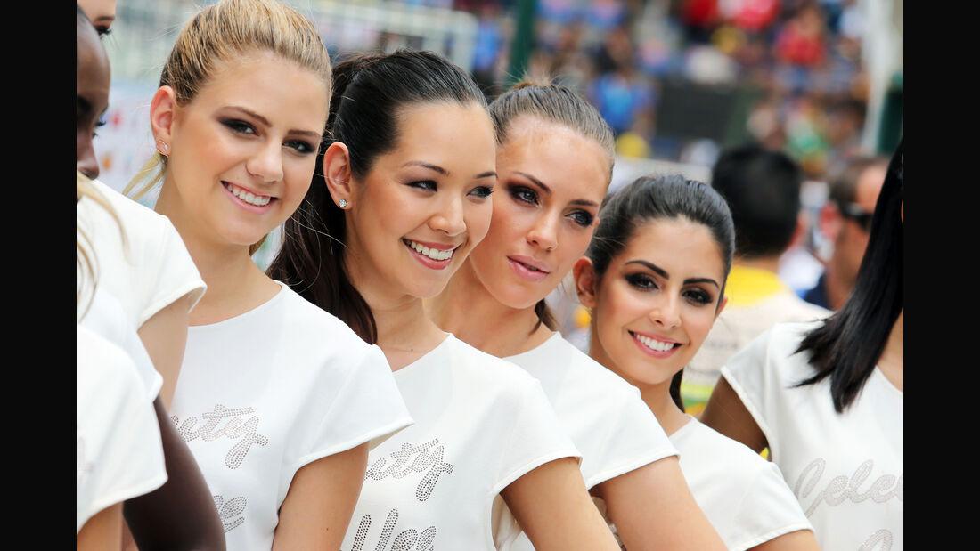 Gird Girls - Formel 1 - GP Brasilien- 15. November 2015