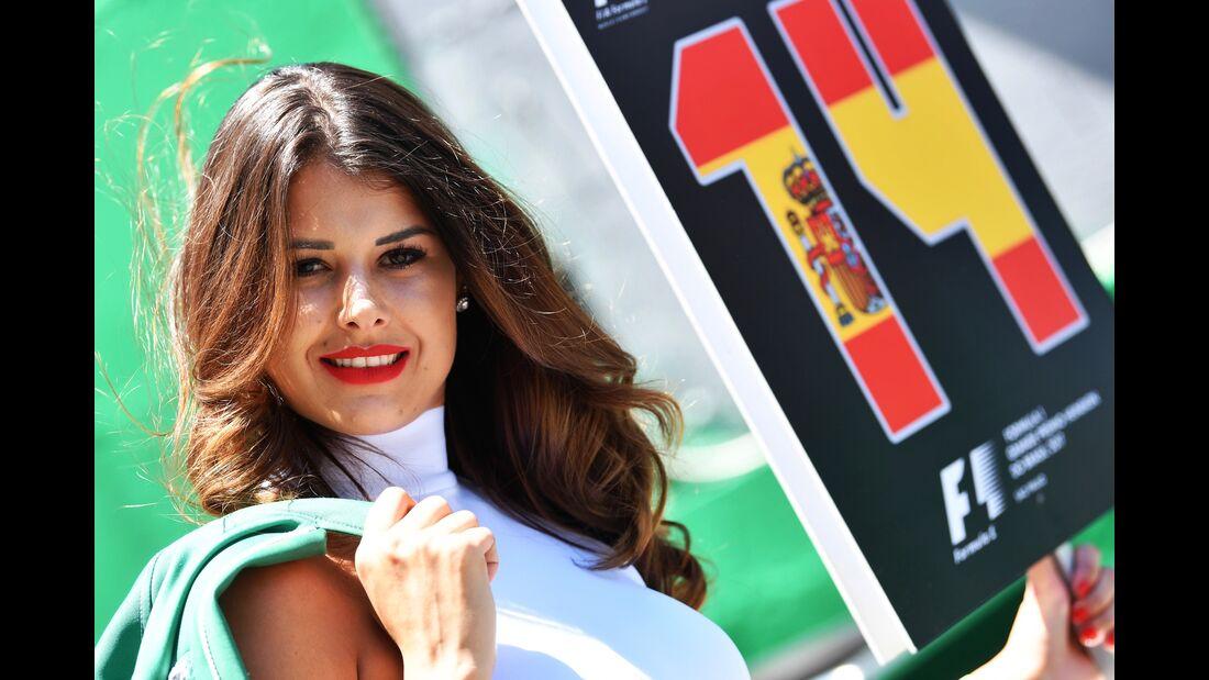 Girl - Formel 1 - GP Brasilien - 12. November 2017