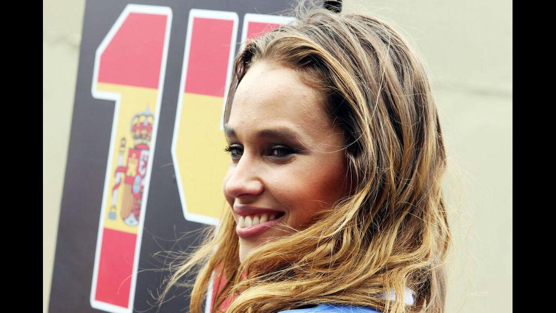 Girl  - Formel 1 - GP Brasilien - 9. November 2014