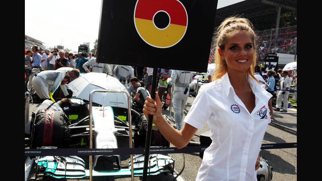 Girl  - Formel 1 - GP Italien - 7. September 2014
