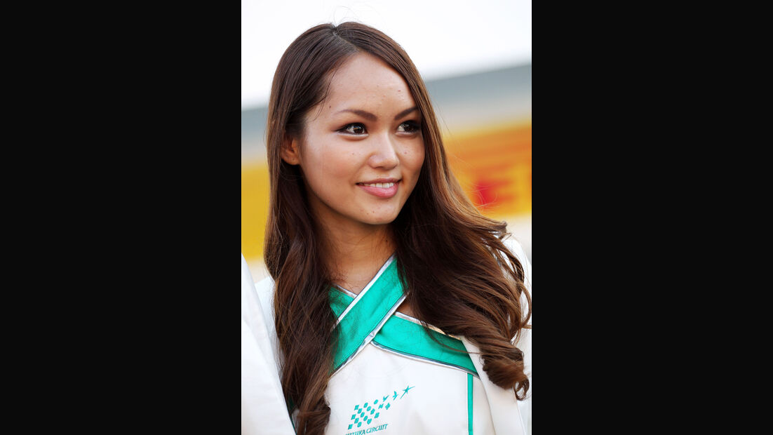 Girl - Formel 1 - GP Japan - 10. Oktober 2013