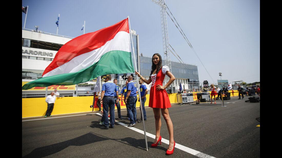Girl - Formel 1 - GP Ungarn - 24. Juli 2016