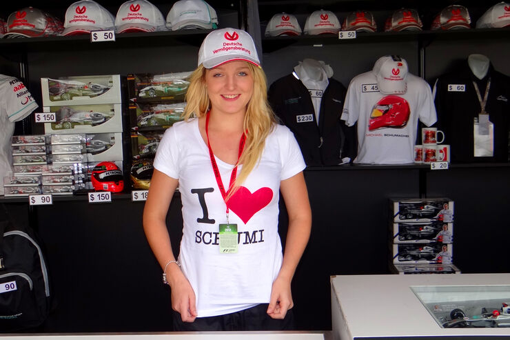 Girl - GP Australien - Melbourne - 15. März 2012