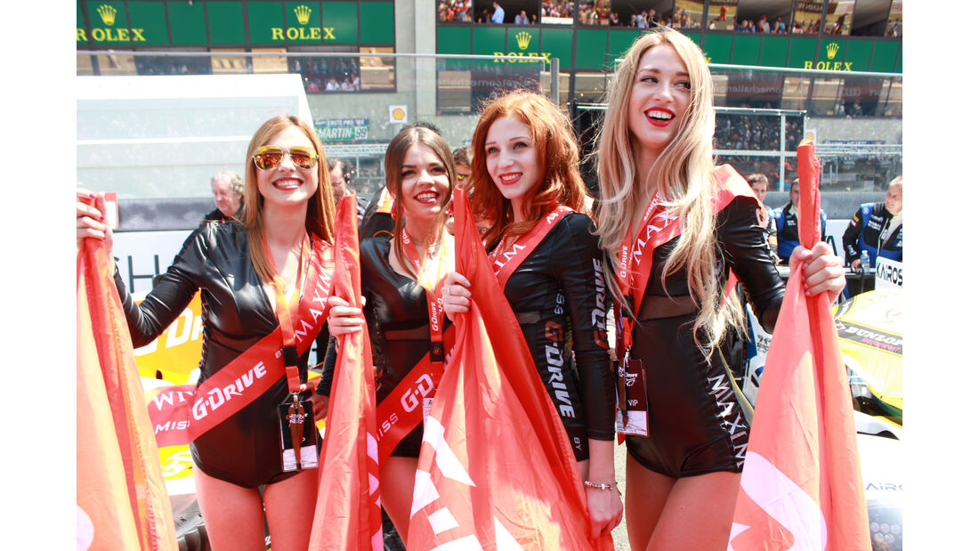 Girls - 24h-Rennen Le Mans 2015