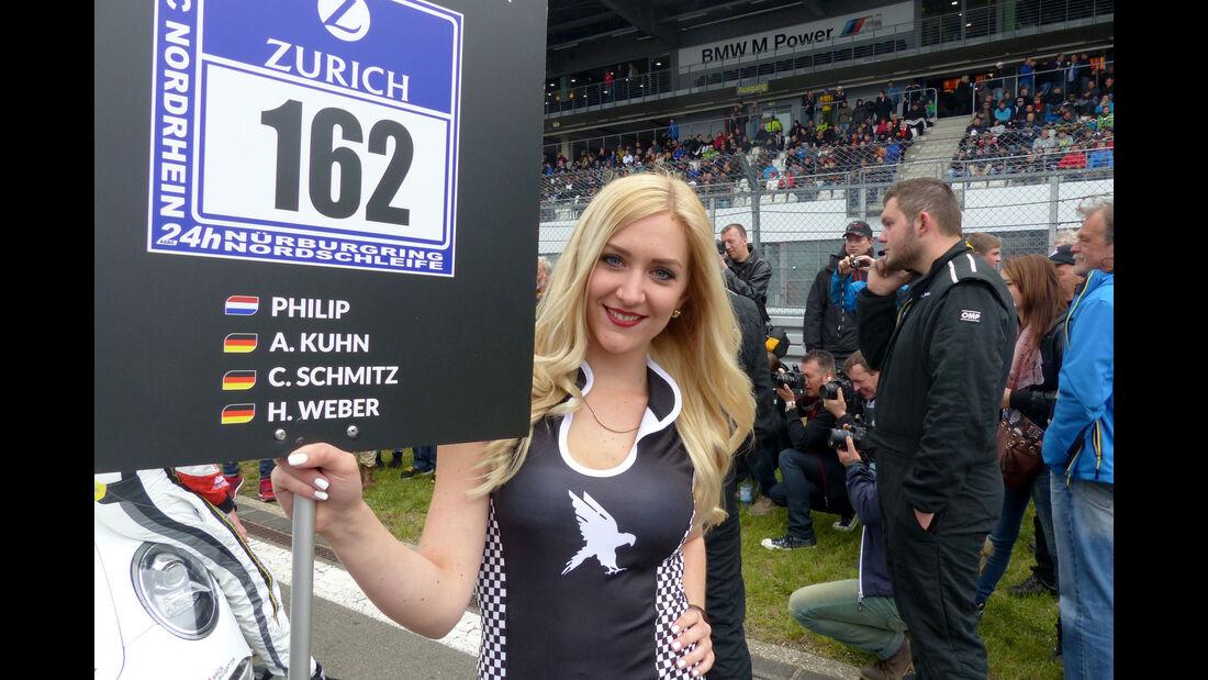 Girls - 24h-Rennen Nürburgring 2015 - Nordschleife