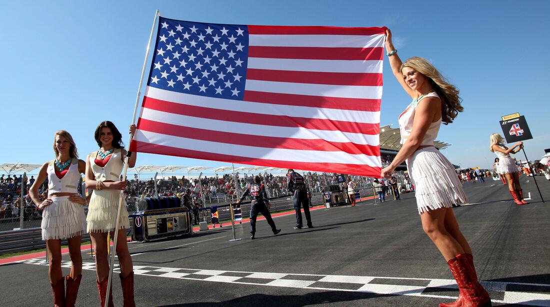 Girls Formel 1 Austin GP USA 2012