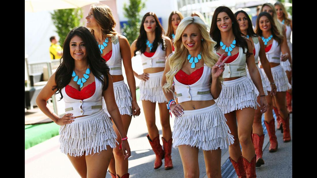 Girls - Formel 1 - Austin - GP USA - 22. Oktober 2016