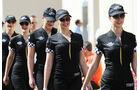 Girls - Formel 1 - GP Abu Dhabi - 22. November 2014