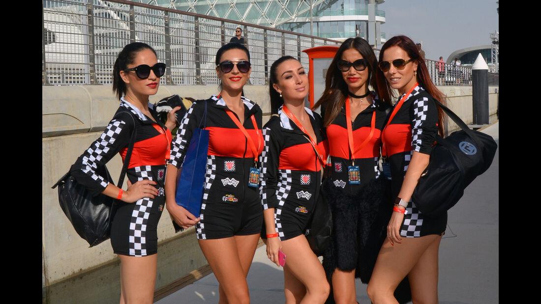 Girls - Formel 1 - GP Abu Dhabi - 26. November 2016