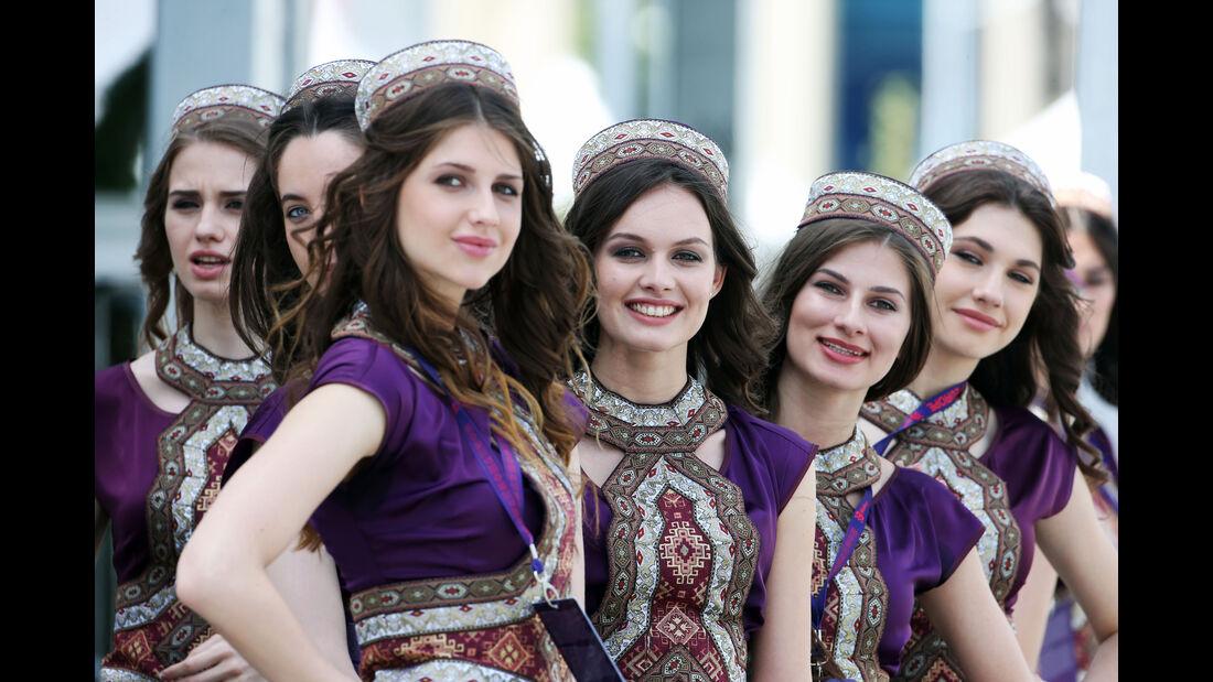 Girls - Formel 1 - GP Aserbaidschan - Baku - 18. Juni 2016