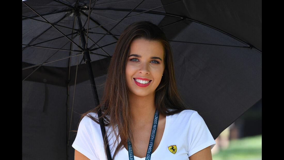 Girls - Formel 1 - GP Australien 2017