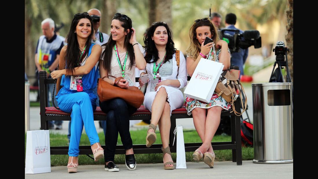 Girls - Formel 1 - GP Bahrain - 18. April 2015